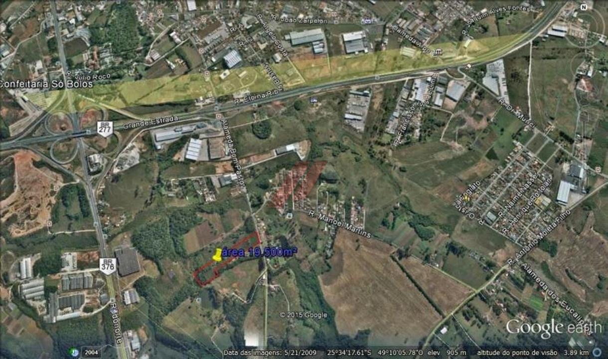 Área rural à Venda - São José dos Pinhais