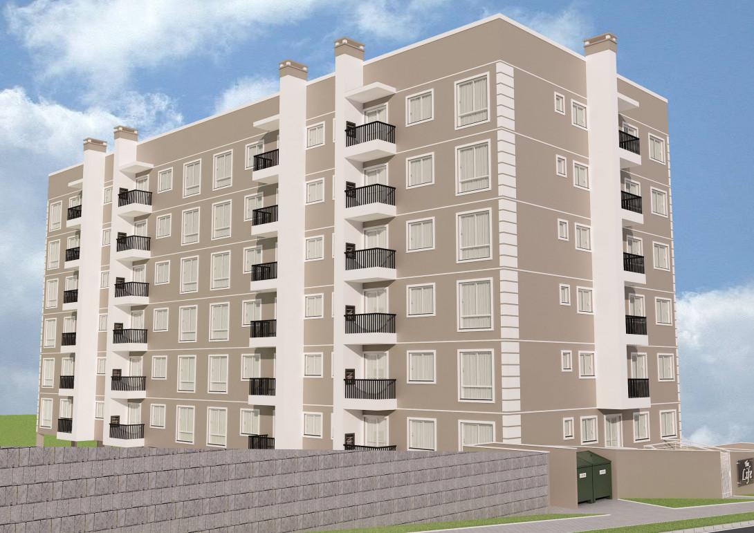 Foto 10 - APARTAMENTO em prédio com elevador, em CURITIBA - PR, no bairro Tingui - Referência 520.2020