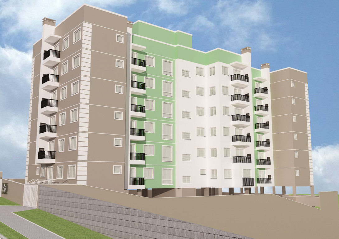 Foto 14 - APARTAMENTO em prédio com elevador, em CURITIBA - PR, no bairro Tingui - Referência 520.2020