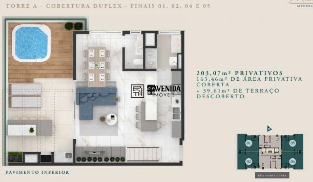 Foto 33 - COBERTURA em CURITIBA - PR, no bairro Alto da Glória - Referência LE00238