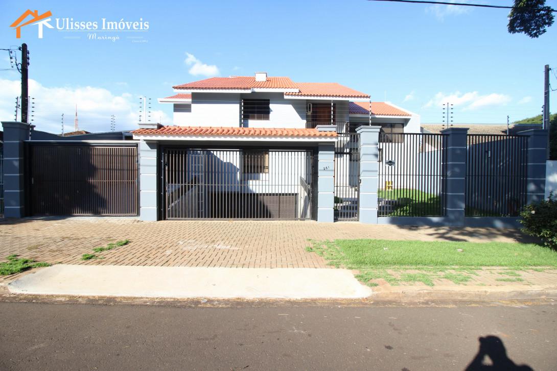 Foto 1 - CASA SOBRADO - ALTO PADRÃO - ZONA 05