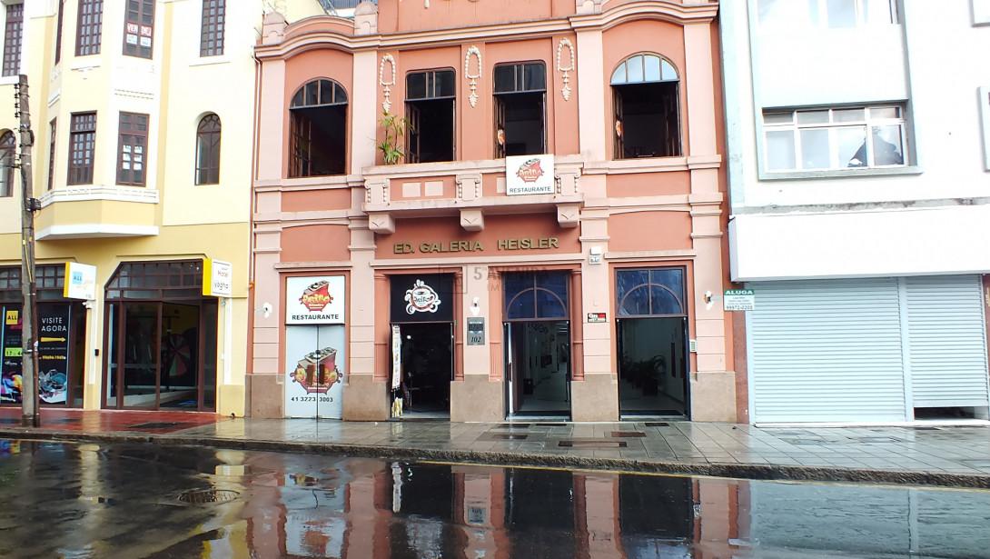 Foto 1 - SALA COMERCIAL em CURITIBA - PR, no bairro Centro - Referência AN00096